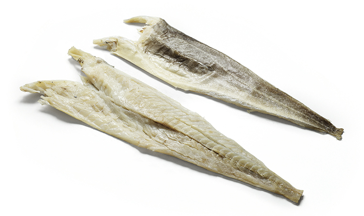 stoccafisso ammollato parzialmente spinato tagliapietra