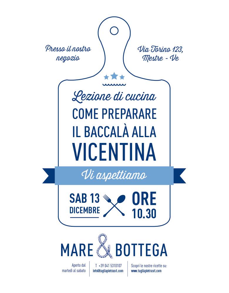mini corso di baccalà alla vicentina | tagliapietra - Come Cucinare Il Baccalà Alla Vicentina