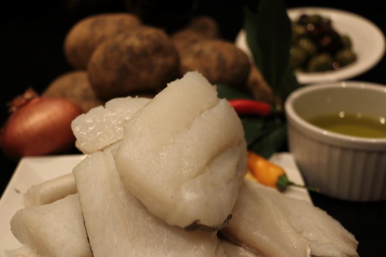 filetti di baccalà al forno con ingredienti per ricetta