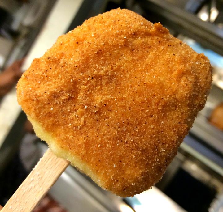 stecco gelato baccalà mantecato fritto