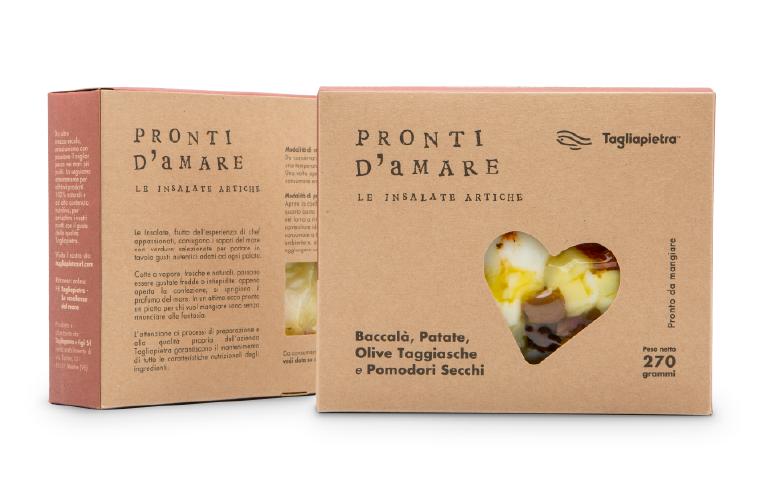 baccalà olive e pomodorini